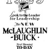 Canada - McL-Buick introduction day B&W ad