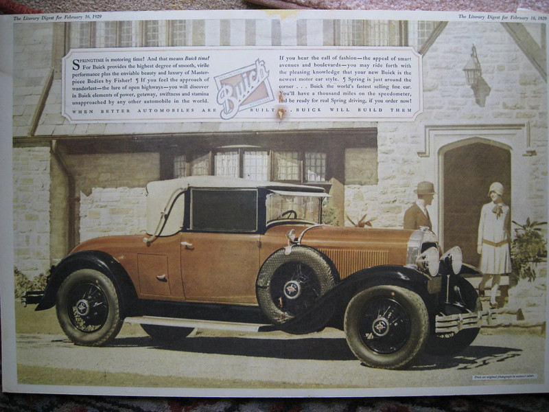 USA - Full colour double page spread ad - featuring 29-54CC