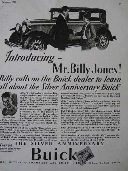 "USA - One of the ""Billy"" series ads (#1)"