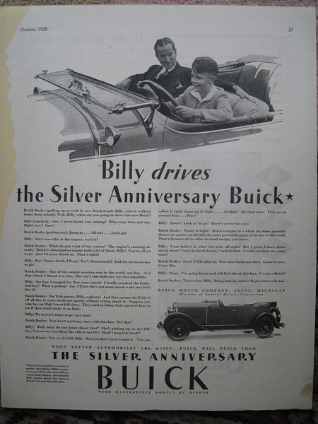 """USA - One of the """"Billy"""" series ads (#2)"""