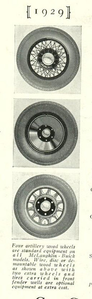 Optional Wheels - from catalogue