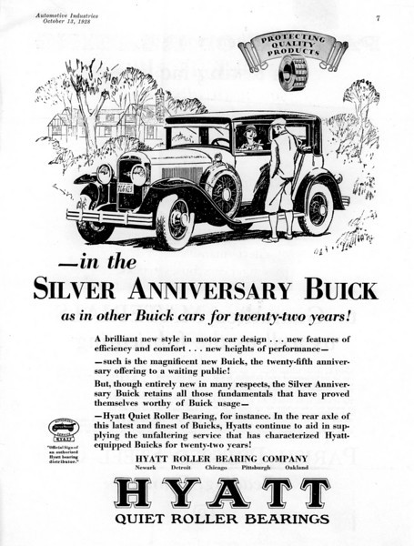 USA - Hyatt Roller Bearings B&W ad