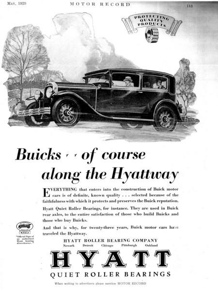 USA - Hyatt Roller Bearings B&W ad (#2)