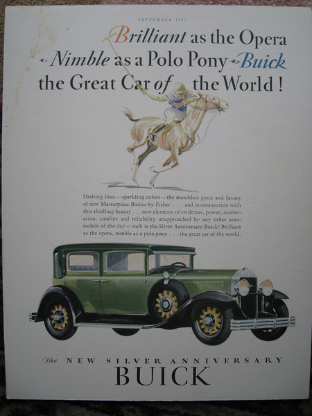 USA - Full colour ad - featuring either 29-41 or 29-51 (Close Coupled Sedan)