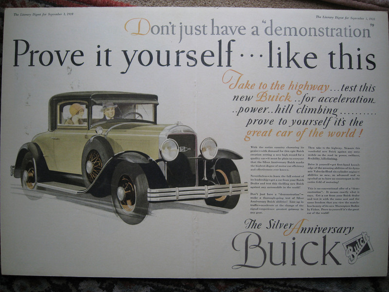 USA - Full colour double page spread ad