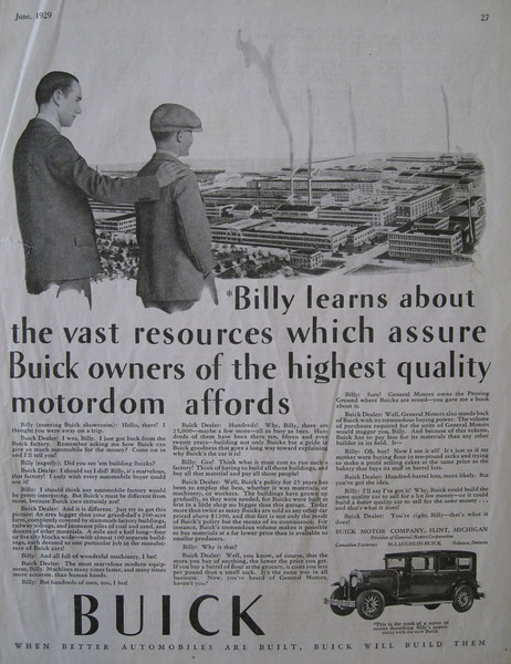 """USA - One of the """"Billy"""" series ads (#10 )"""