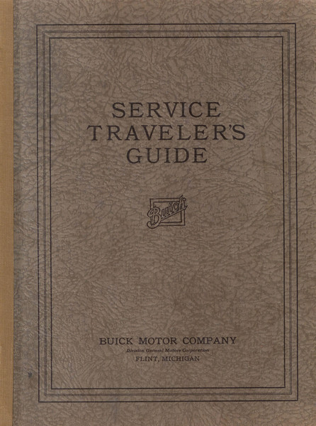 USA - Service Traveler's Guide Book (35 pages + fold-out accounting sheet)  Instructions for a Dealer accounting system dated 9/28