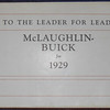 Canadian McLaughlin Buick Dealer Manual - Introduction page