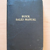 USA - Buick Sales Manual - for use by Dealer's sales people - 317 pages (1 of 4 Dealer / Salesman Books inc. Order Book, Flip Chart & Colours)