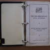 USA - Buick Sales Manual - for use by Dealer's sales people (inside 1st Page) - 317 pages  (1 of 3 Dealer / Salesman Books inc. Order Book, Flip Chart & Colours)
