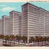 Postcard - GM Headquarters, Detroit, MI, circa 1929