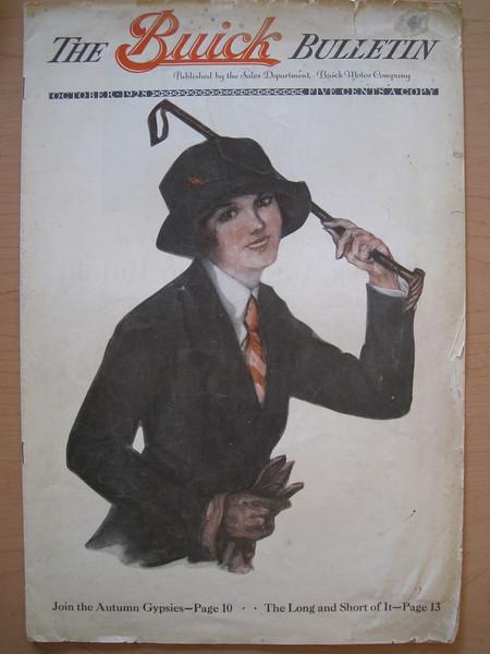 USA - Buick Bulletin - Oct. 1928
