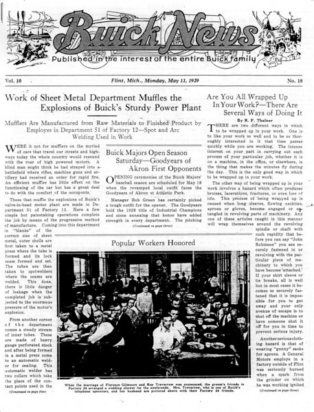 USA - Buick News - Flint (5/13/29)