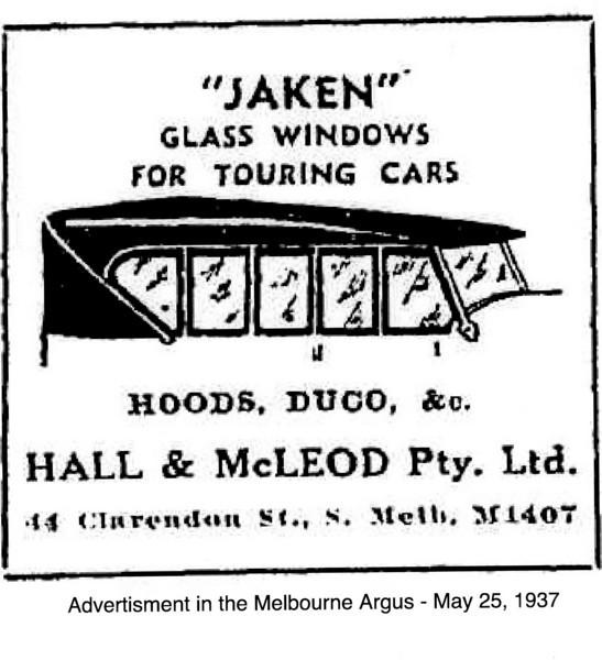 Jaken Side Curtains - sold in Australia