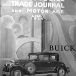 USA - 29 Buick on Cover of Automobile Trade Journal