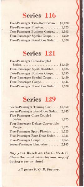 USA Autoshow Score Card Price List