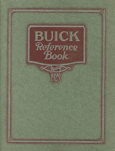 Reference Book - USA (5 different editions) - 64 pages.  Full colour reprint available from The Buick Heritage Alliance