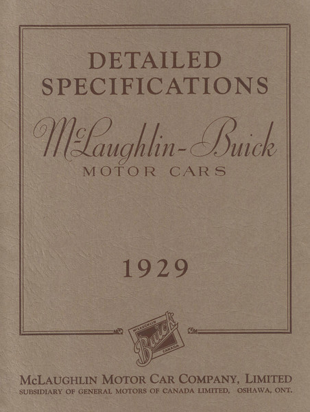 Detailed Specifications - Canada - 38 pages