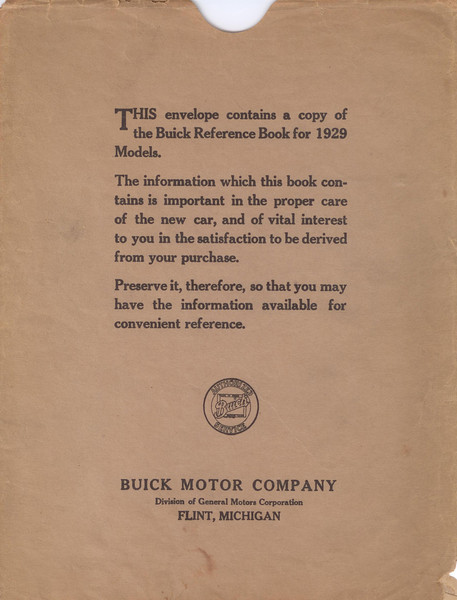 Reference Book Envelope (USA)