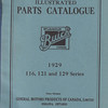 Parts Book - Canadian (All series) - 142 pages
