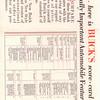 USA - Autoshow Score Card - Inside