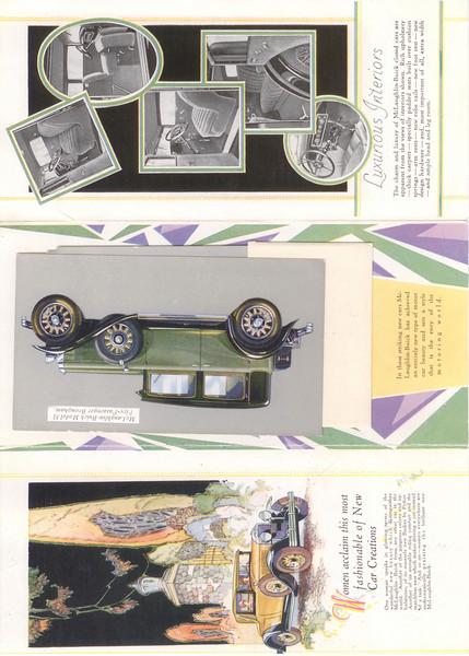 Canadian McLaughlin Buick Showroom folder #5 - inside