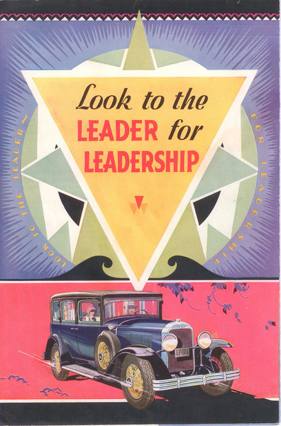 Canadian McL-Buick salesroom folder #3 - cover - version #2