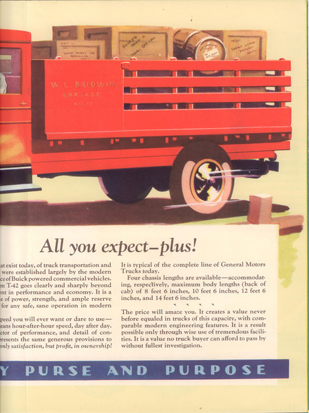 USA - Buick Powered Truck Brochure - inside page