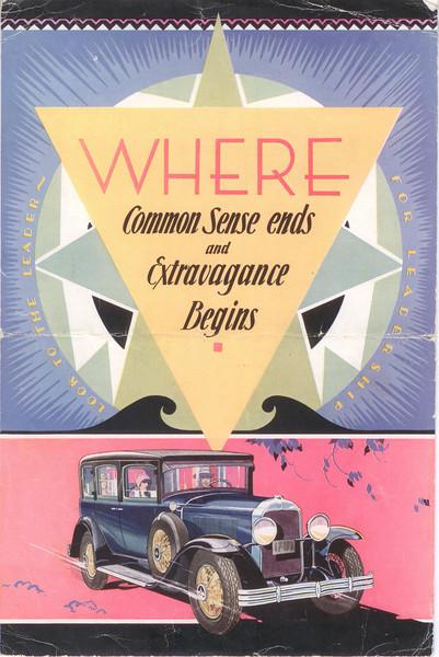 Canadian McL-Buick salesroom folder #3 - cover - version #1
