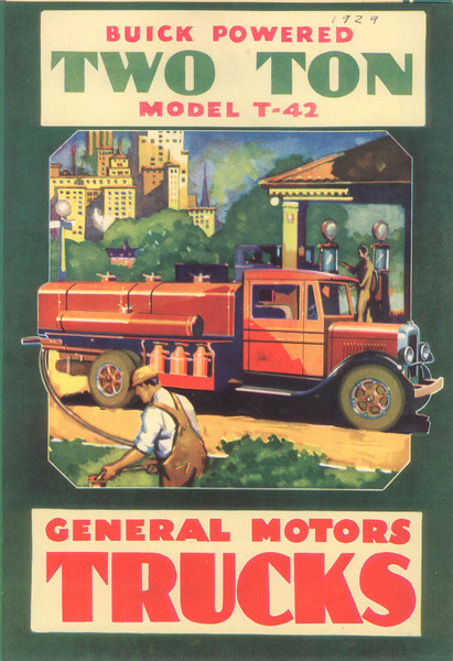 USA - Buick Powered Truck Brochure - Cover