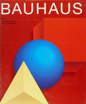 "Front Cover of the Bauhaus ""Red"" Book"