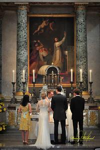 Wedding in Katedras Vilnius