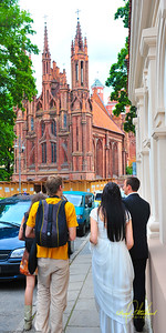 Backpacking to your own Wedding in Vilnius?