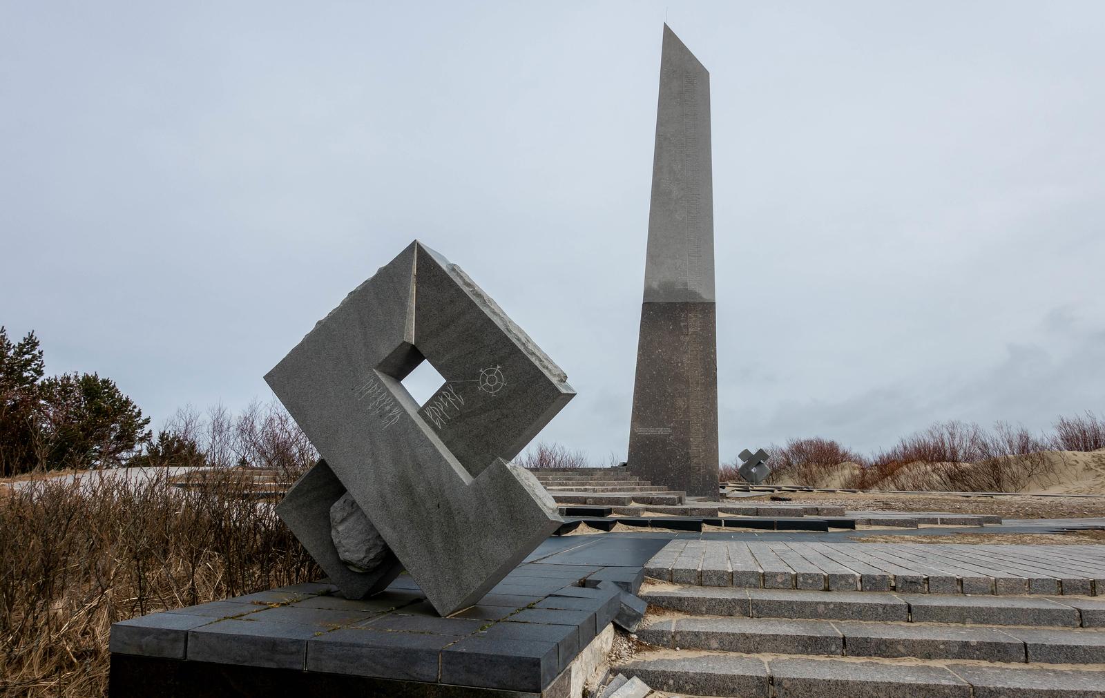 Nida, Lithuania - Sundial
