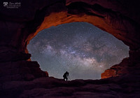 Night sky photography in the desert.