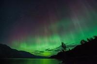 Northern Lights at Dusk
