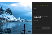 Screenshot of a SmugMug website.