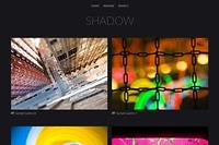 Shadow SmugMug theme
