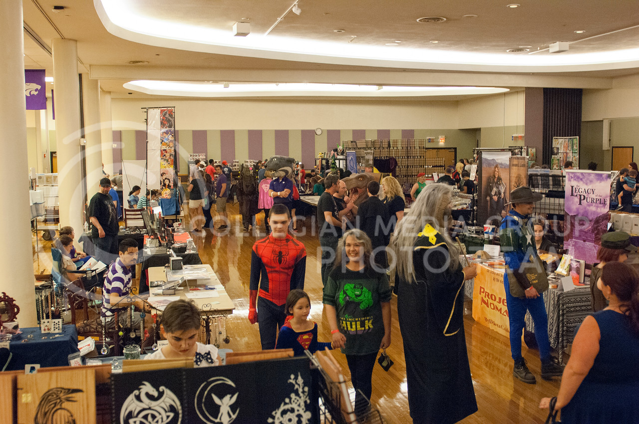 The Little Apple Comic Expo in the Kansas State student union in Manhattan, Kan. on Sept. 23, 2017. (Photo by Justin Wright | Collegian Media Group)
