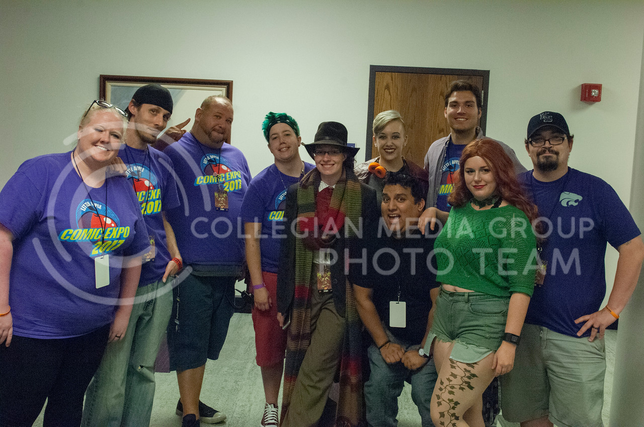 The Little Apple Comic Expo in the Kansas State student union in Manhattan, Kan. on Sept. 23, 2017. (Photo by Justin Wright   Collegian Media Group)