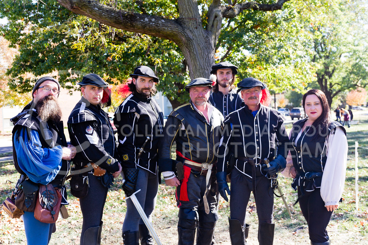 The Yemoan Bodyguard Put on the Fight a Knight event at the Little Apple Renaissance Fair on the 29th October, 2017 (Alex Shaw | Collegian Media Group)