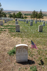 Our Apsaalooke Tours bus driver has a distant relative who was a guide for the 7th Calvary, buried in the National Cemetery.