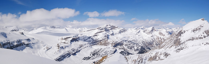 Summit panorama from west to northeast.