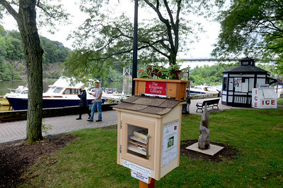 Tania Barricklo-Daily Freeman  Gallo Park in the Rondout in Kingston.