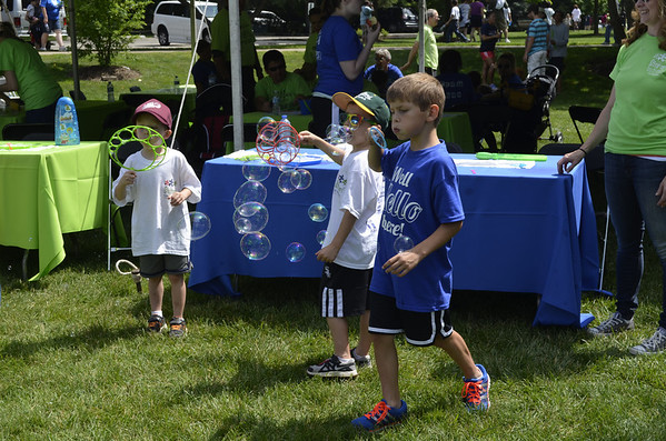 Little Friends Step up for Autism Walk 2014