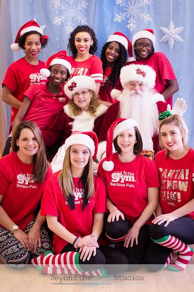 Little Gym Santa Party December 2015
