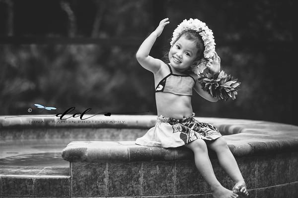 Little Hawaiian Girl