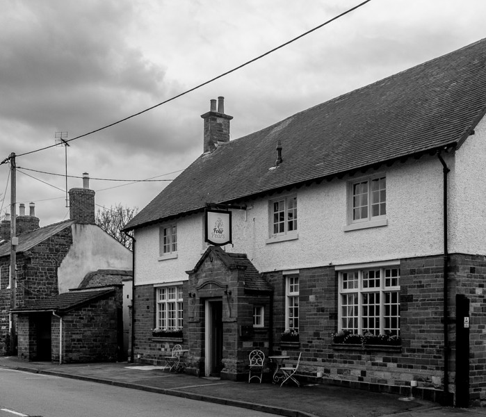 The Red Lion (now Four pears), Little Houghton, Northamptonshire