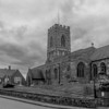 Church and School , Little Houghton, Northamptonshire