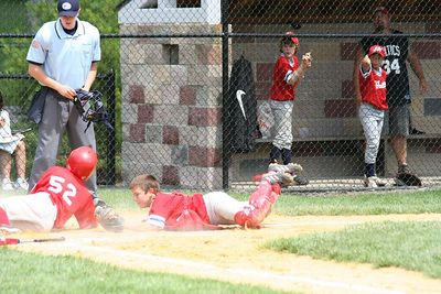"""Ump Says, """"He's Outta There!"""""""